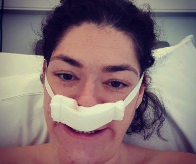 Rachel post-surgery - February 2020
